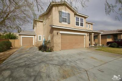 Indio Single Family Home For Sale: 80482 Ullswater Drive