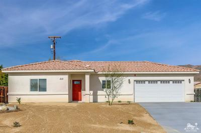 Palm Springs Single Family Home For Sale: 10913 Santa Cruz Rd