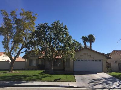 Cathedral City Single Family Home Contingent: 30748 Kenwood Drive
