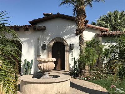 Single Family Home For Sale: 53646 Via Dona