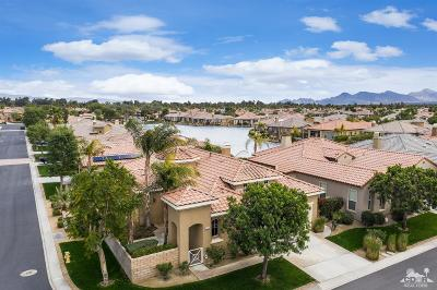 Rancho Mirage Single Family Home Contingent: 105 Shoreline Drive