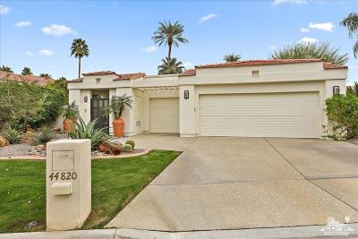 Indian Wells Single Family Home For Sale: 44820 Lakeside Drive