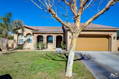 Indio Single Family Home For Sale: 82306 Brewster Dr.