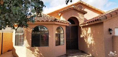 La Quinta Single Family Home Contingent: 51905 Eisenhower Drive