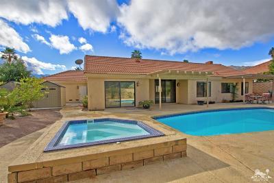 Palm Desert Single Family Home For Sale: 72910 Amber Street