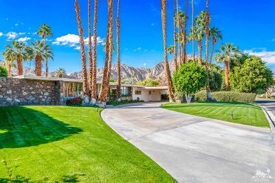 La Quinta Single Family Home Contingent: 48841 Avenida Fernando