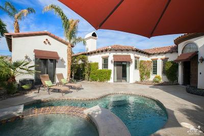 La Quinta Single Family Home Contingent: 57706 Santa Rosa Trail