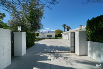 Rancho Mirage Single Family Home For Sale: 37521 Palm View Road