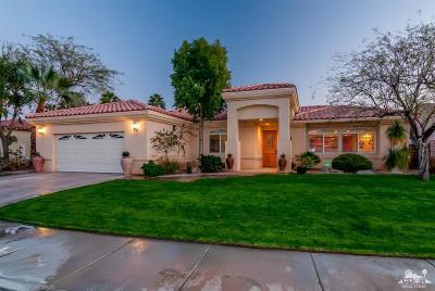 Palm Desert Single Family Home Contingent: 38681 Desert Mirage Drive