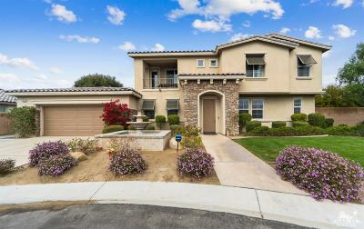 Indio Single Family Home Contingent: 83334 Beaver Creek Ct Court