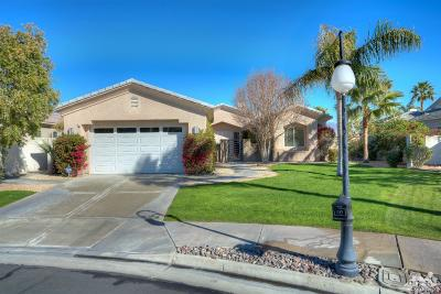 Rancho Mirage Single Family Home Contingent: 14 Champagne Circle