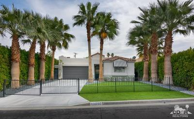 Palm Desert Single Family Home Sold: 46030 Ocotillo Drive
