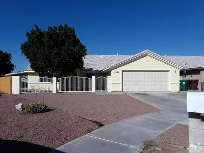 Cathedral City Single Family Home For Sale: 31221 El Toro Road