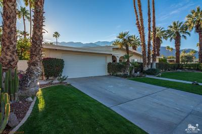 Palm Springs Single Family Home For Sale: 1901 S Cadiz Circle