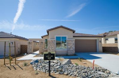 Indio Single Family Home For Sale: 80085 Canyon Club