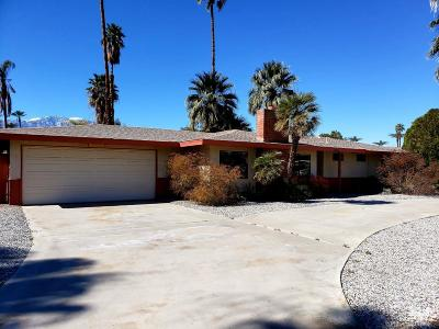 Rancho Mirage Single Family Home For Sale: 36883 Palmdale Road
