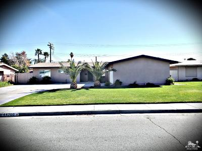 Indio Single Family Home Contingent: 44700 Windsor Drive