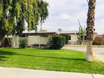 Indio Single Family Home For Sale: 43740 Navajo Street