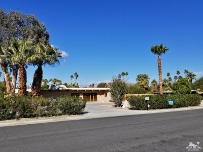 Rancho Mirage Single Family Home For Sale: 72324 Rancho Road