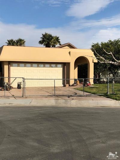Indio Single Family Home For Sale: 43395 Inca Court