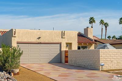 Palm Desert Country Single Family Home Contingent: 76596 New York Avenue