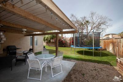 Indio Single Family Home Contingent: 46427 Willow Lane