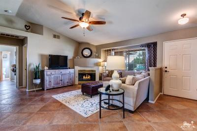 Cathedral City Single Family Home Contingent: 69865 Bluegrass Way