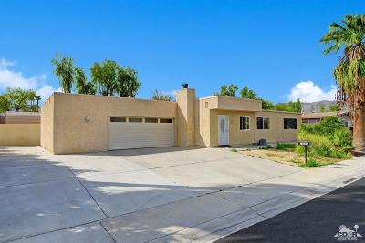 Palm Desert Single Family Home Contingent: 74261 Aster Drive