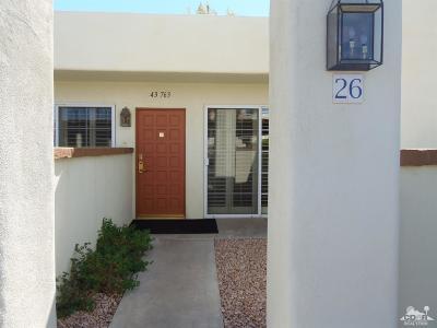Palm Desert Single Family Home For Sale: 43763 Avenida Alicante #426-1