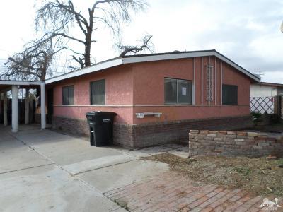 Blythe Single Family Home For Sale: 401 S 1st Street