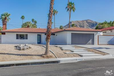 Cathedral City Single Family Home Contingent: 37618 Bankside Drive