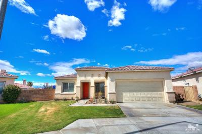 Indio Single Family Home For Sale: 80800 Sunglow Court