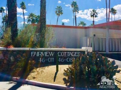 Palm Desert Condo/Townhouse For Sale: 46019 Portola Avenue