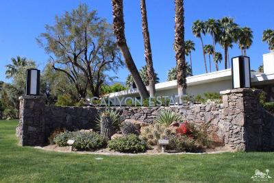 Palm Springs Condo/Townhouse For Sale: 2168 S La Paz Way
