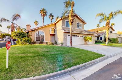 La Quinta Single Family Home Sold: 78680 Maracas Court