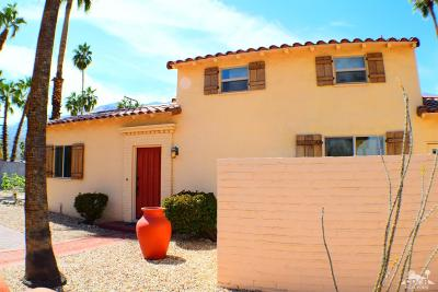 Palm Springs Single Family Home For Sale: 571 S Indian Trail