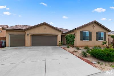 Indio Single Family Home For Sale: 84357 Falco Court