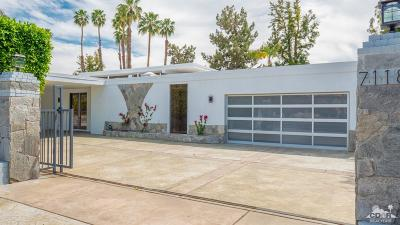 Rancho Mirage Single Family Home Contingent: 71183 Country Club Drive