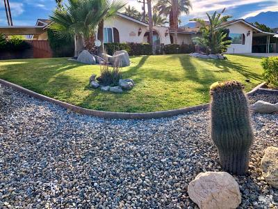 Cathedral City Single Family Home For Sale: 37669 Palo Verde Drive
