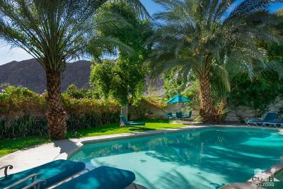 La Quinta Single Family Home Sold: 78435 Singing Palms Drive