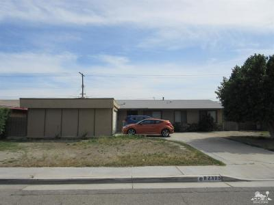 Indio Single Family Home Contingent: 82305 Mountain View Avenue