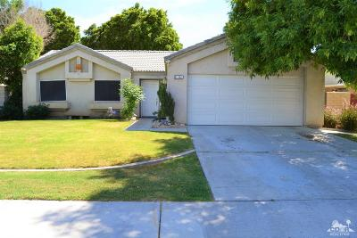 Indio Single Family Home Contingent: 81361 Coco Palm Drive