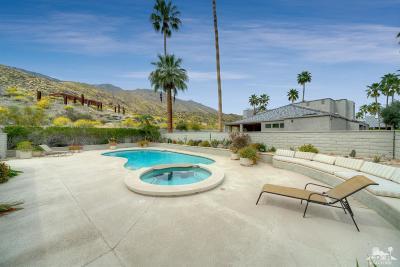 Palm Springs Single Family Home Contingent: 2651 W La Condesa Drive