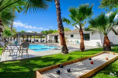 Palm Springs Single Family Home Contingent: 664 S El Cielo Road
