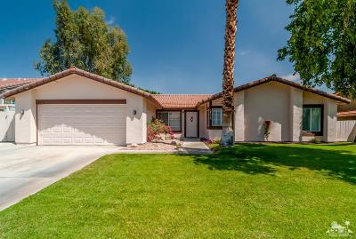 Cathedral City Single Family Home Contingent: 68310 Bella Vista Road