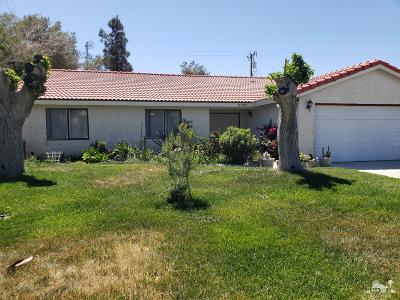 Cathedral City Single Family Home For Sale: 67765 Paletero Rd Road