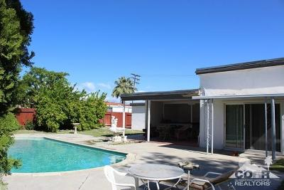 Palm Springs Single Family Home For Sale: 5207 E Cherry Hills Drive