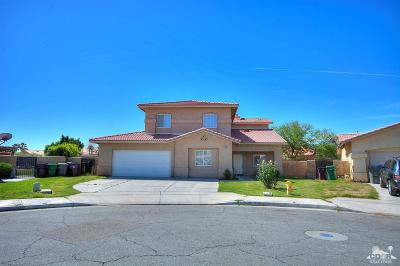 Indio Single Family Home For Sale: 43720 Brahea Court