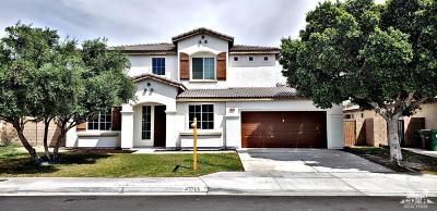 Indio Single Family Home For Sale: 43766 Cape Cod Court