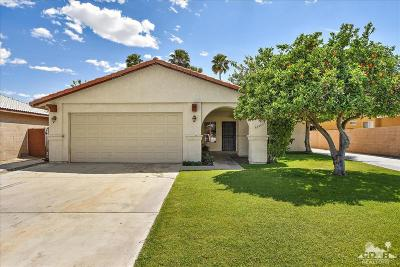 Cathedral City Single Family Home Contingent: 68905 Tortuga Road